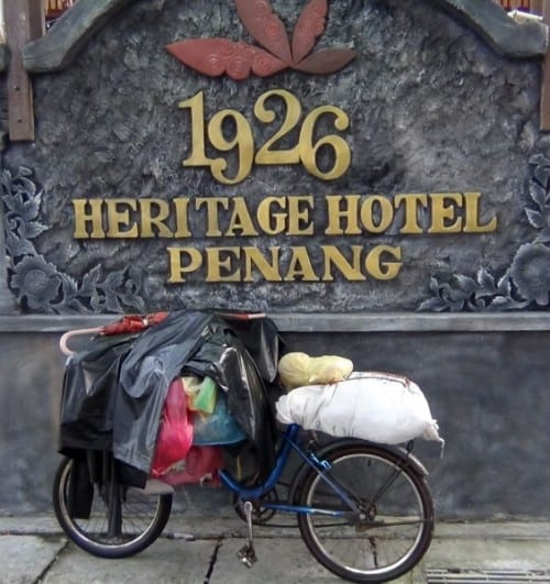 Penang's 1926 Heritage Hotel