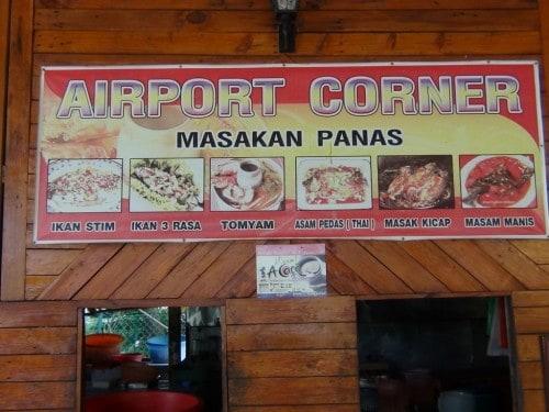 Airport Corner