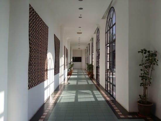 Aseania Resort interior walkway