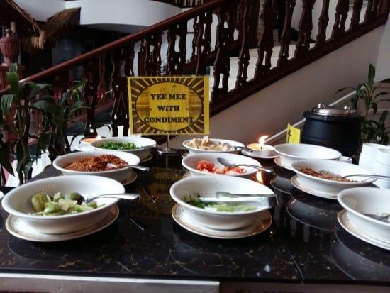 Breakfast buffet at Aseania Resort