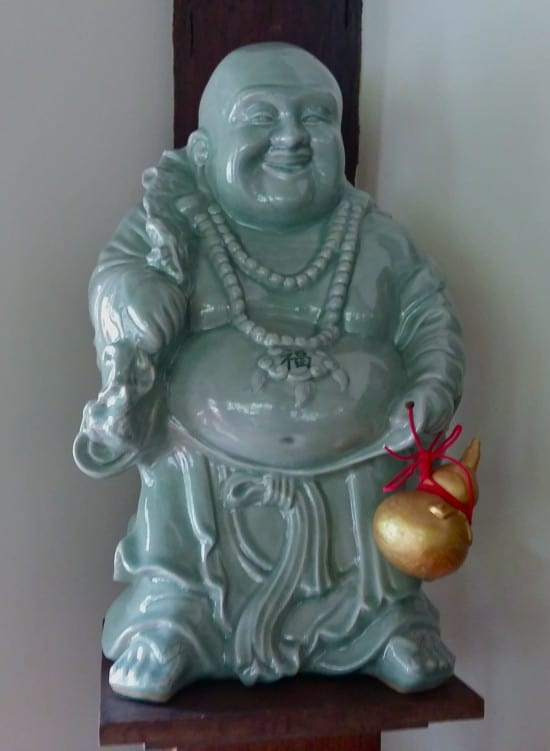 Beautiful Celadon buddha statue