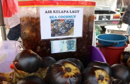 Malaysia night market food