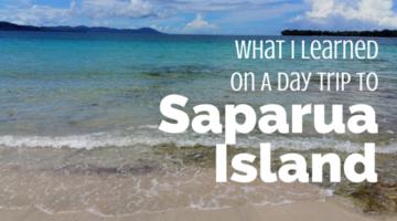 What I Learned On A Day Trip To Saparua Island