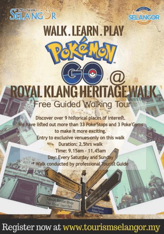 Royal Klang Heritage Walk