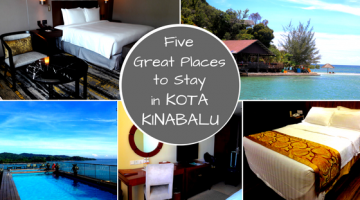 Five Great Places to Stay in Kota Kinabalu