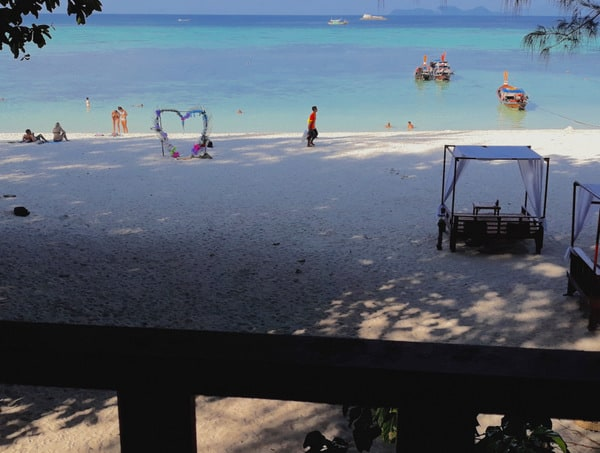 Feeling the Love at Lipe Beach Resort