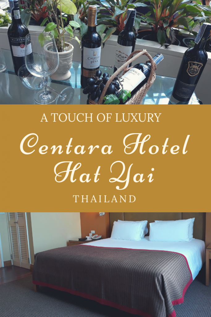 Touch of Luxury at Centara Hotel Hat Yai