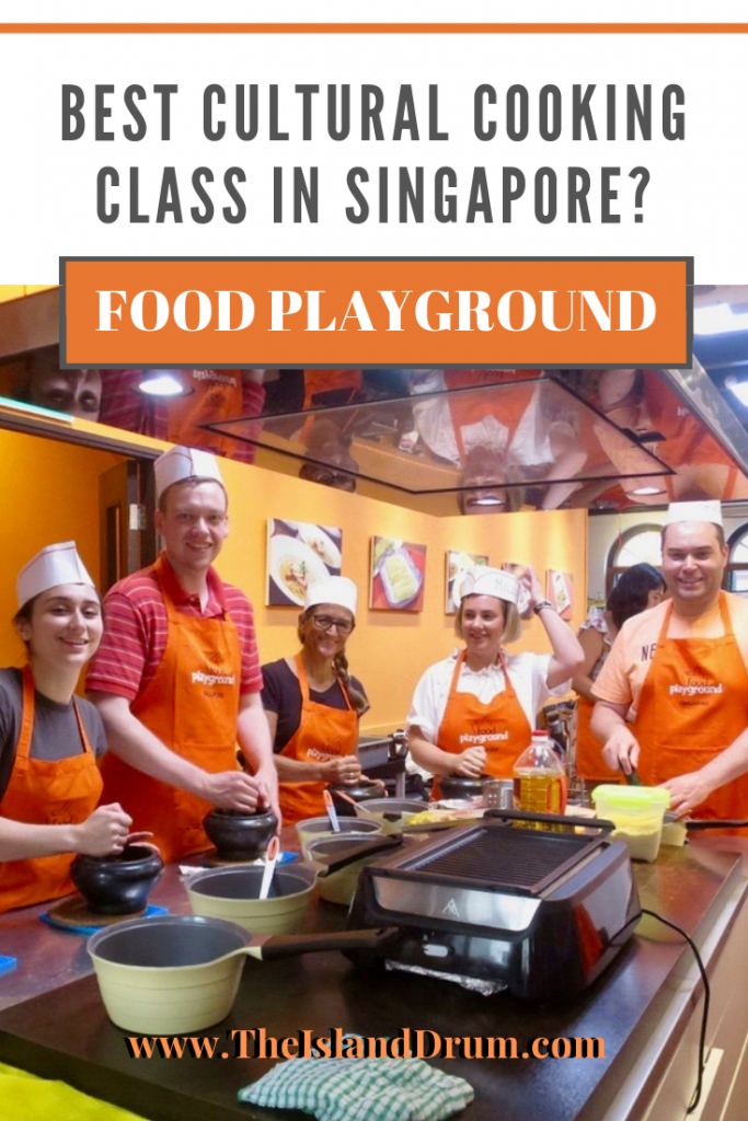 Best Cultural Cooking Class in Singapore? Food Playground!