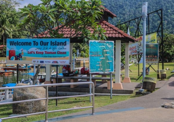 Pulau Tioman Island, Just an Island Hop Away