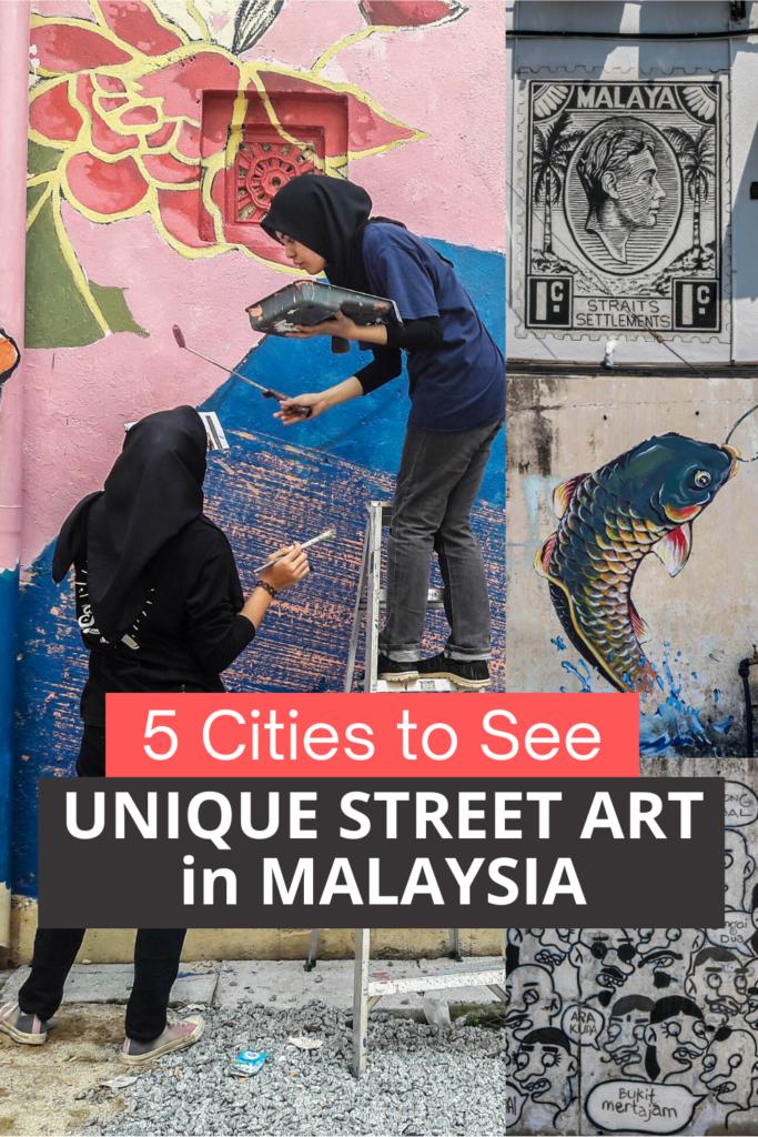 Unique Street Art in Malaysia